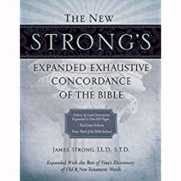 Picture of NEW STRONG'S EXPANDED EXHAUSTIVE CONCONCORDANCE-RED