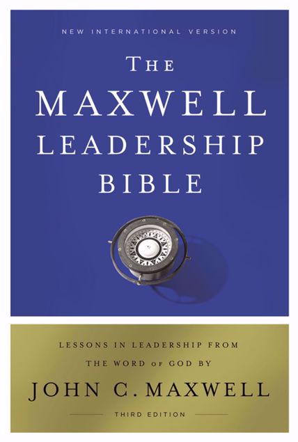 Picture of The MAXWELL LEADERSHIP BIBLE NIV  H/C