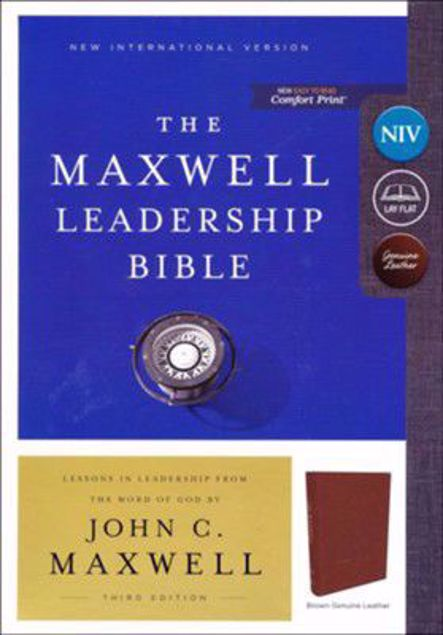 Picture of The Maxwell Leadership Bible NIV L/C